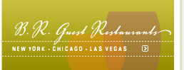 B.R. Guest Restaurant website